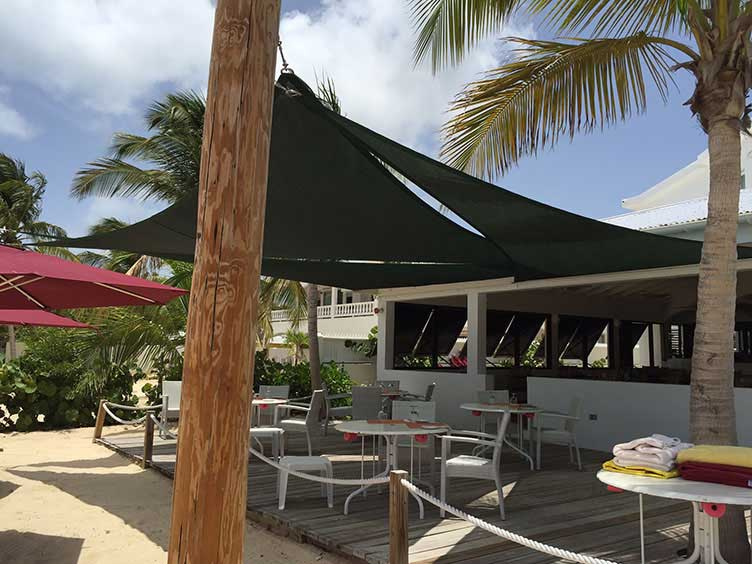 Customer picture of shade sail
